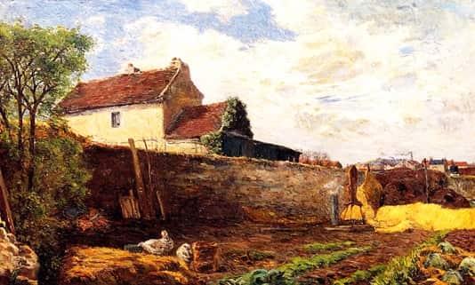 gauguin-geese-on-the-farm-1879