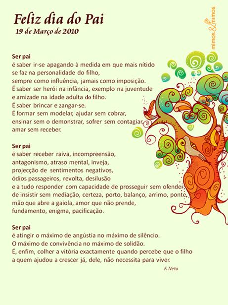 Poemas Dia Dos Pais Imagui