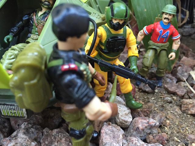1985 Airtight, Bazooka, Heavy Metal, Flint, 1993, Monster Blaster APC, Mega Marines