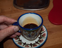 Guatemala pottery espresso cup