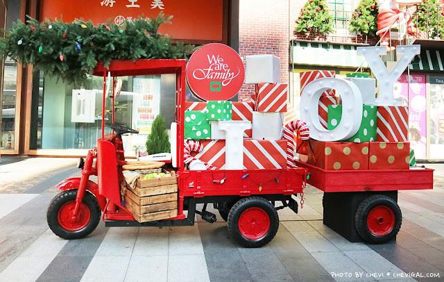 IMG 9659 - 聖誕老人竟然落跑啦!那我的禮物在哪裡?快來金典綠園道和聖誕老公公一起回家吧!