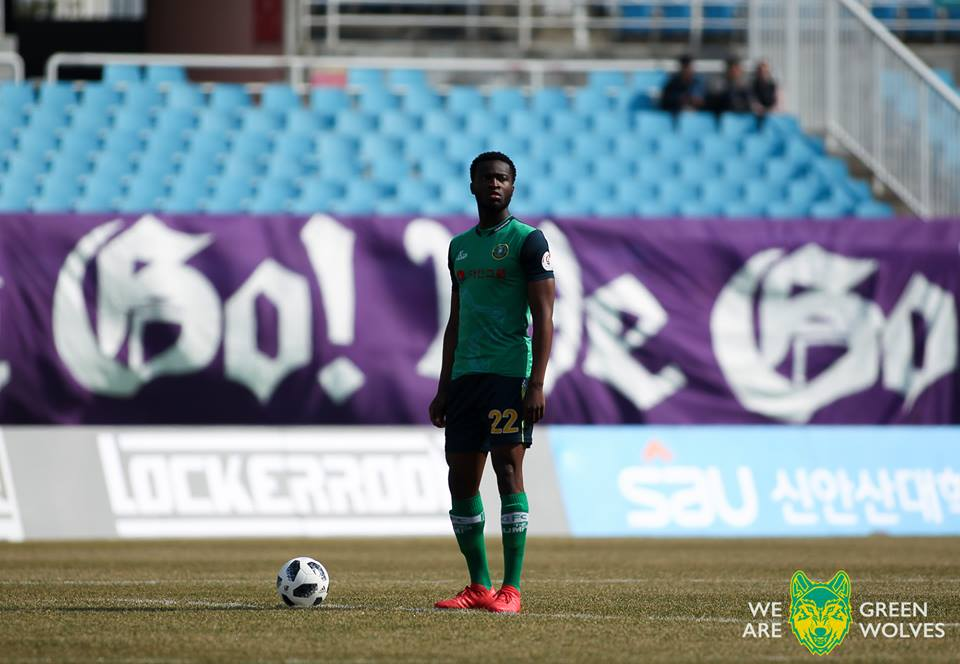 Interview: Ansan Greeners' Liberian International Striker Seku Conneh