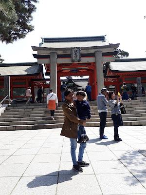 Sumiyoshi Taisha enterance gate
