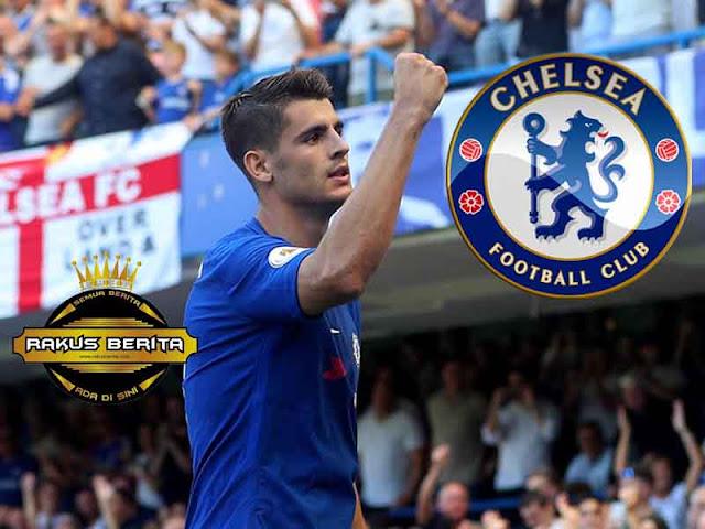Usai Berikan Assist Dan Gol Untuk Chelsea, Conte Puji Kinerja Morata