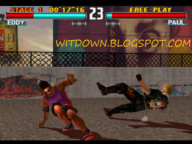 DOWNLOAD TEKKEN 3 FULL GAME FOR PC + EMULATOR HIGHLY