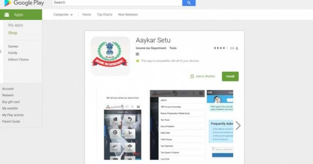 Aaykar Setu App Goes Live On Google Play Store Apply For