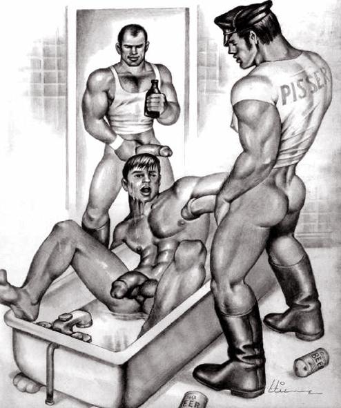 gay leather escort paris