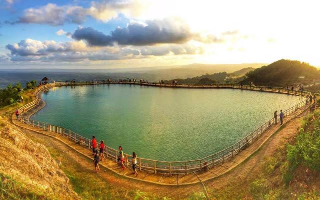 Embung Nglanggeran, Danau Buatan Cantik di Puncak Bukit
