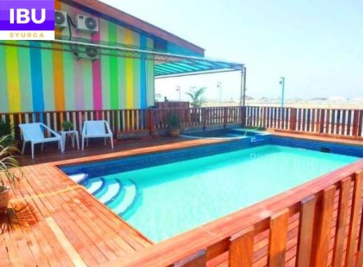 Mabohai Resort Klebang Melaka swimming pool tepi pantai