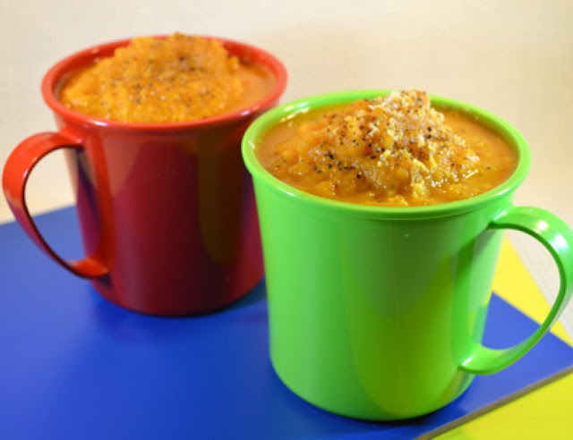 Curried Carrot Soup #soups #recipes