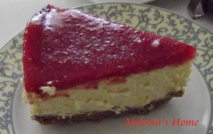 Frambuazlı Cheesecake -  mmmmm nefis