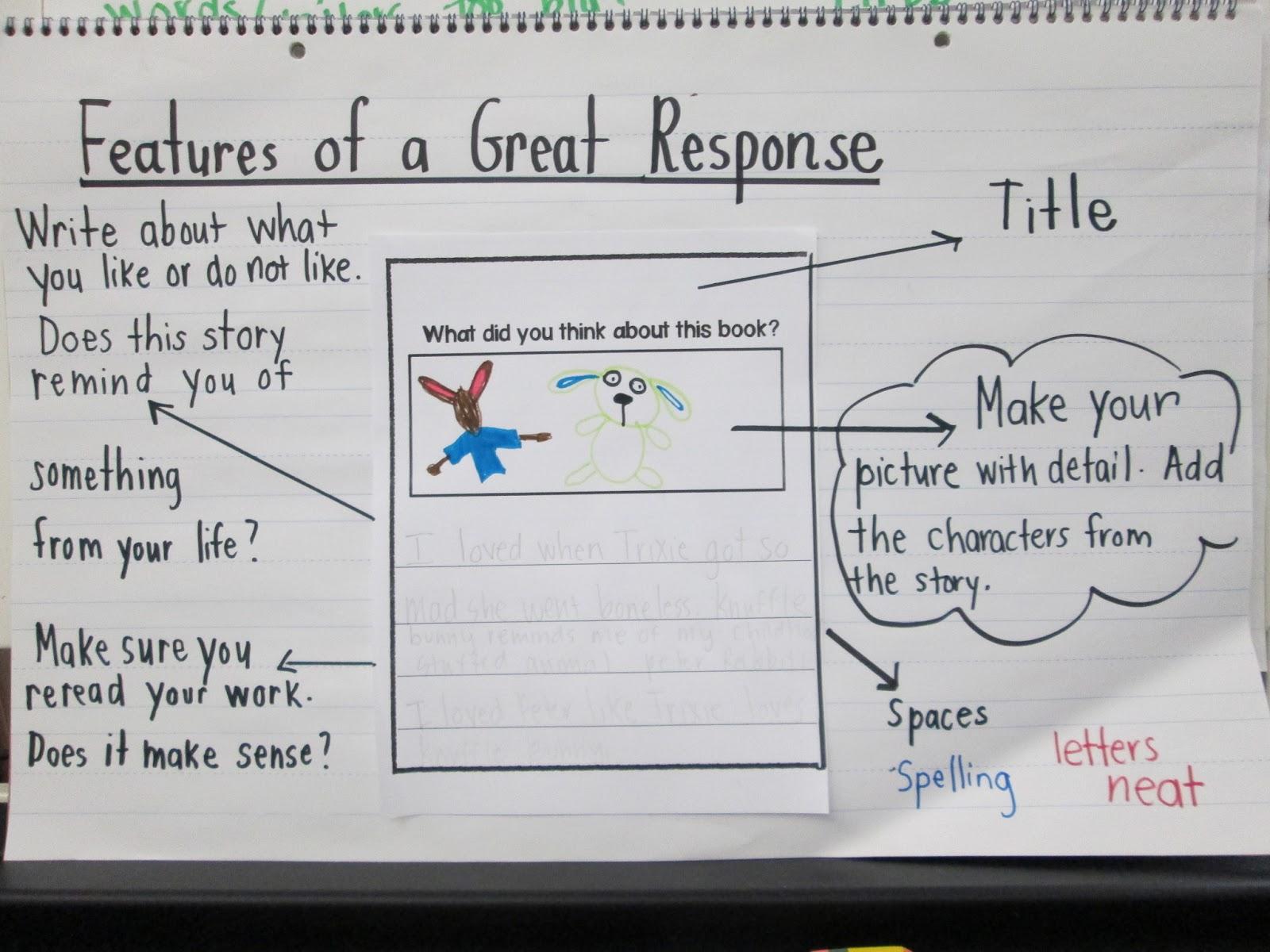 Kc Kindergarten Times Reading Response