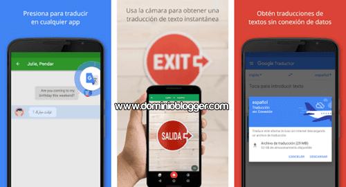 Traductor de Google gratis para Android