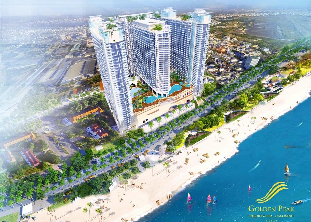 Phối cảnh dự án Golden Peak 28E Trần Phú