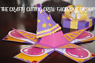 The Crafty Cutting Crew Facebook Group:none;