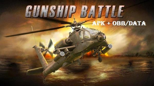 Download Gunship Battle Helicopter 3D APK Obb DATA Game