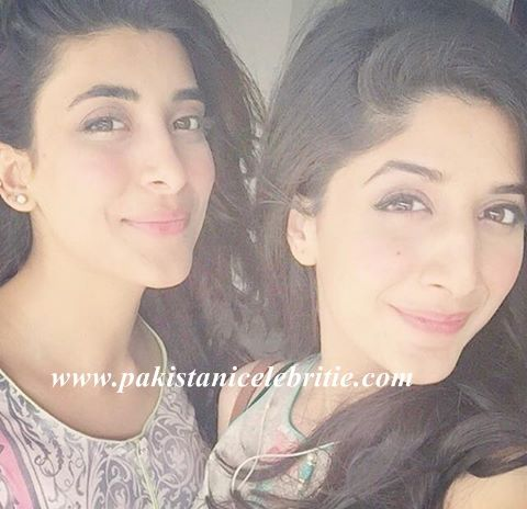 Mawra With Sister Urwa