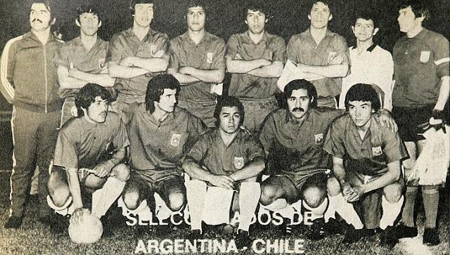 Formación de Chile ante Argentina, Copa Carlos Dittborn 1972, partido de vuelta