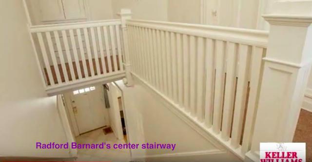 Radford Barnard central staircase