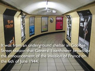 estação de metrô em Londres