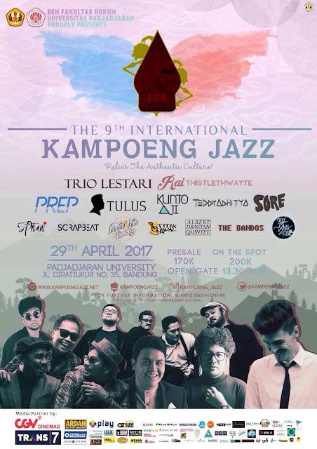 The 9th Intenational Kampoeng Jazz - Lorong Musik