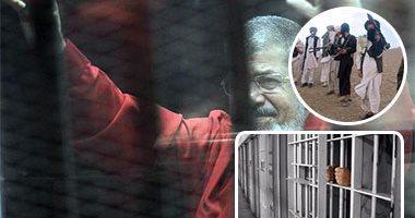 موعد محاكمة مرسي فى قضية اقتحام السجون 26 فبراير