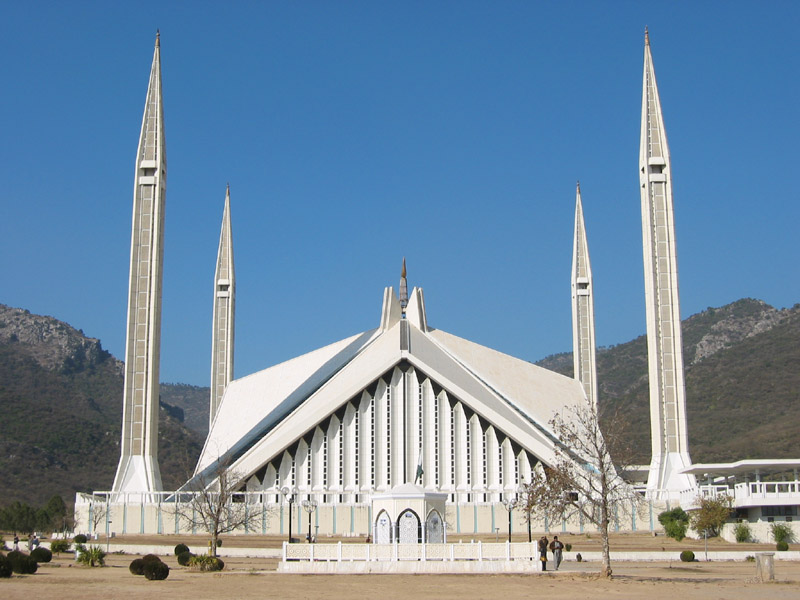 Shah Faisal Mosque In Islamabad Pakistan Life Of Muslim