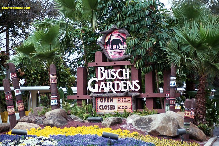 Bobbie 39 s roller coaster and theme park reviews 09 08 13 - How far is busch gardens from orlando ...