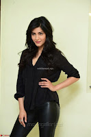 Shruti Haasan Looks Stunning trendy cool in Black relaxed Shirt and Tight Leather Pants ~ .com Exclusive Pics 032.jpg