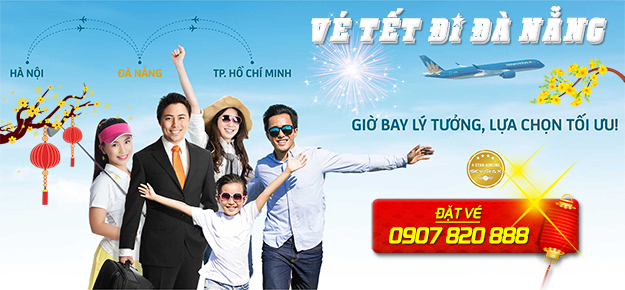 Vé máy bay Tết đi Đà Nẵng tại Việt Mỹ Travel Group