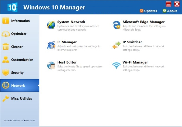 Yamicsoft Windows 10 Manager Free Download Full Latest Version