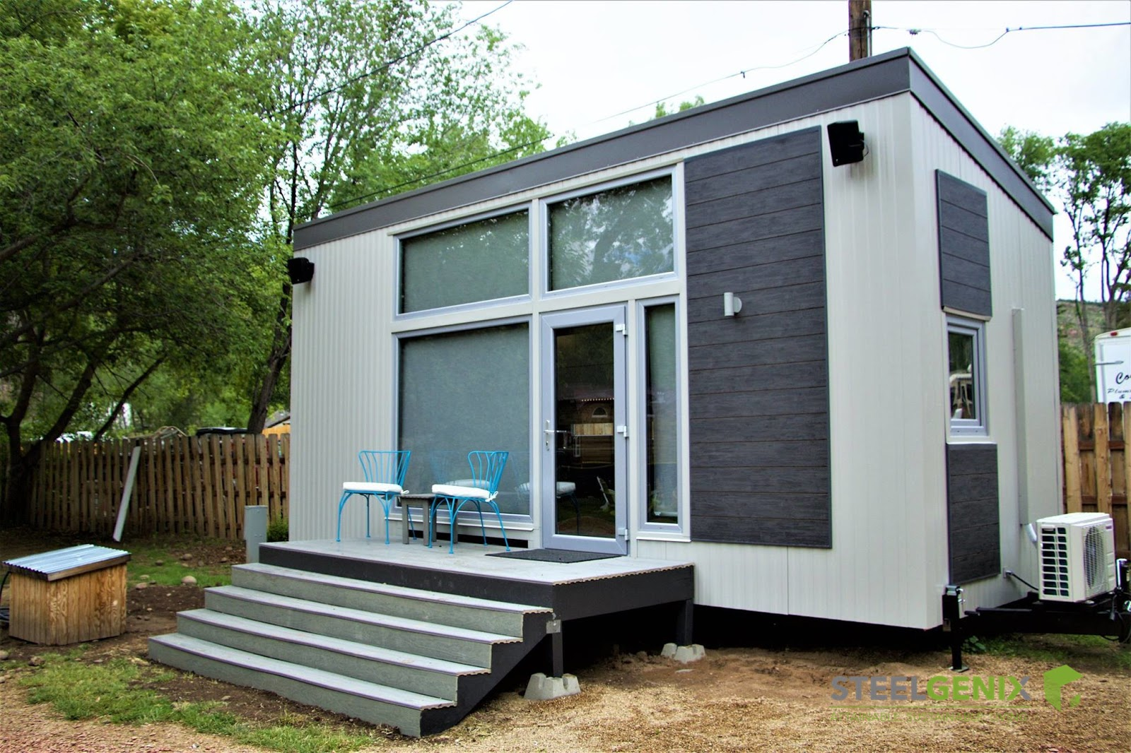 Tiny Home Designs: TINY HOUSE TOWN: The Steelhaus From Steelgenix