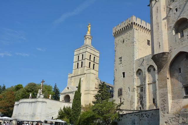 Notre Dame des domes avignon tower