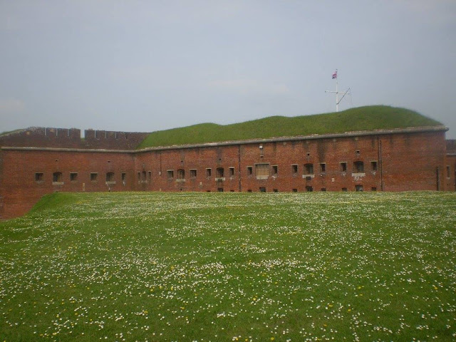 Defence Wall at Fort Nelson
