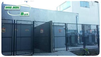 Cabine Primária marca o início do projeto de ampliação da fábrica do Grupo Building