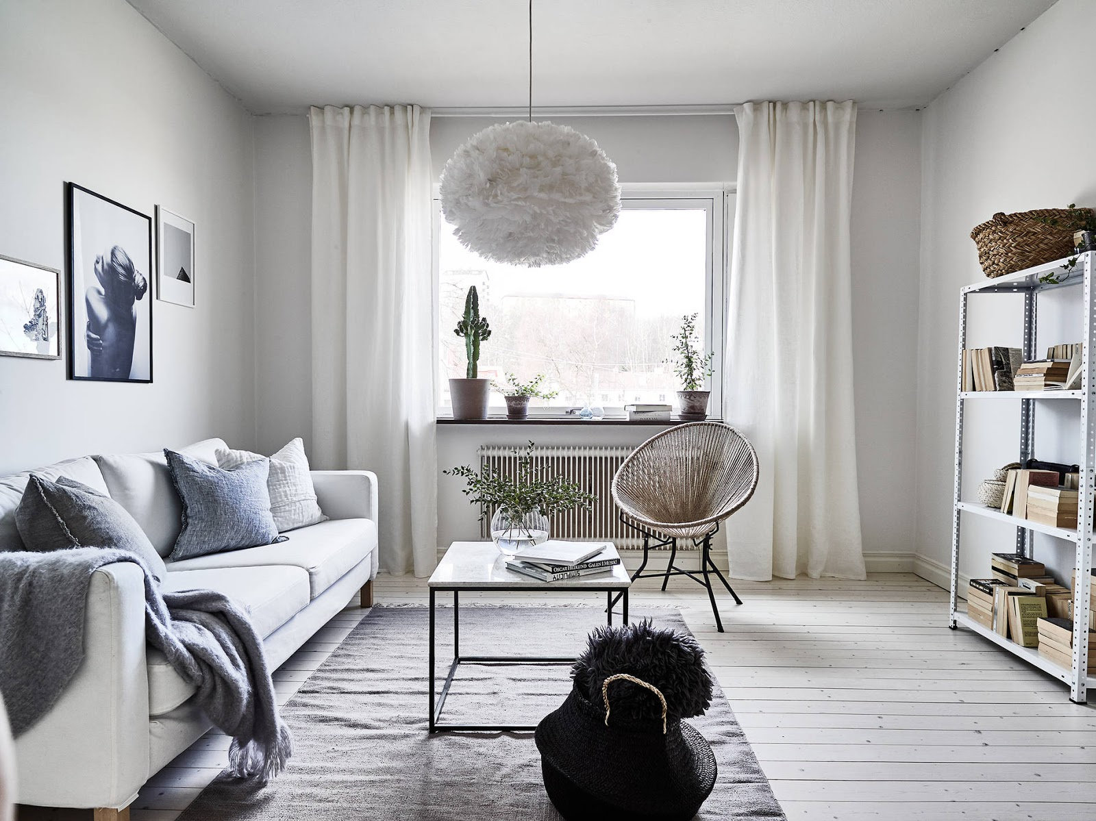 Light Airy Scandi Apartment With A Touch Of Minimal