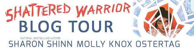 shattered warrior by sharon shinn blog tour