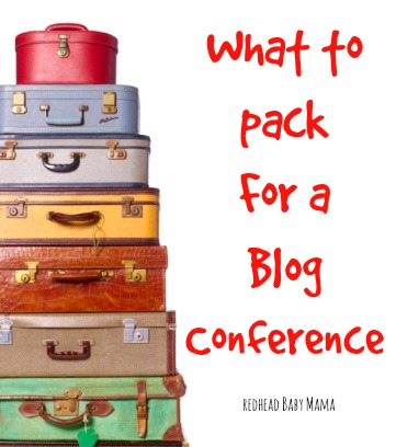 What to Pack for a Blog Conference... here's your packing list!
