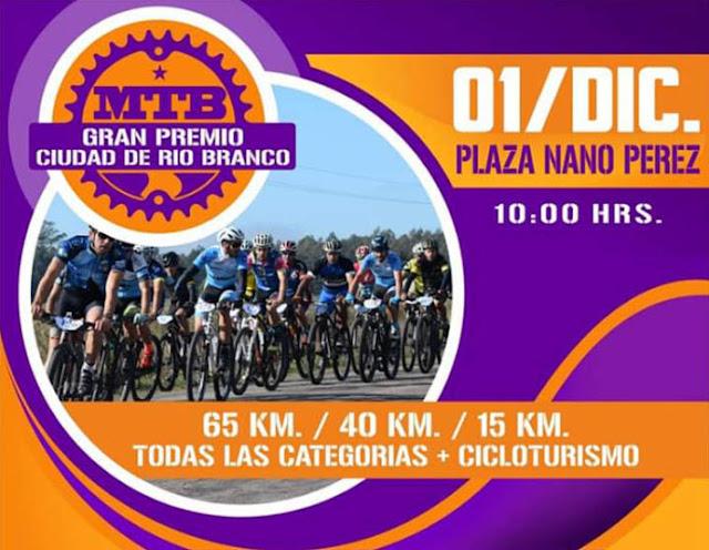 MTB - Gran Premio Ciudad de Rio Branco (Cerro Largo, 01/dic/2019)