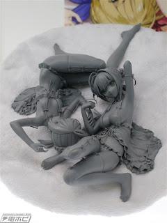 Saber Artoria y Saber Nero de Fate/extella