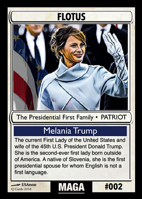 Collectable Q Anon Card Deck -- For the Avid Freedom Fighter! 02%2BFlotus