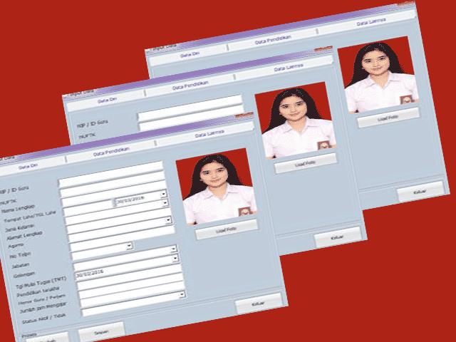 Microsoft Excel Aplikasi Buku Induk Siswa dan Guru SD,SMP,SMA,SMK  Download