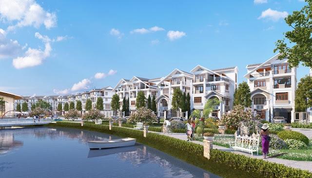 Biệt thự đơn lập Bách Việt Lake Garden Bắc Giang