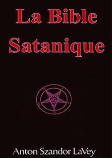 Couverture de la Bible satanique d'Anton Szandor Lavey