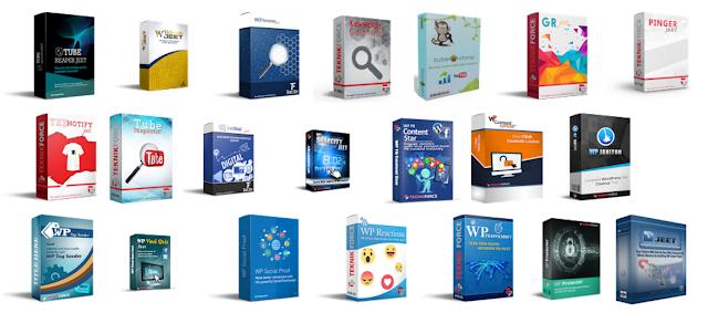 23 Bonus Products [Windows Desktop Applications | Wordpress Plugins | Web Scripts]