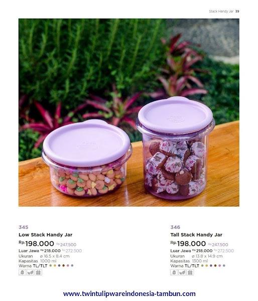 Low, Tall Stack Handy Jar