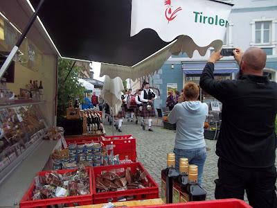 Musiker Erdbeerfest Wolgast