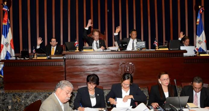 """Senado pide OEA rectifique informe que coloca al país en """"lista negra"""" de derechos humanos  Todos los senadores rechazaron el informe de la OEA."""
