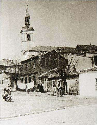 leganes_bn abuelohara plaza del Salvador con avda fuenlabrada