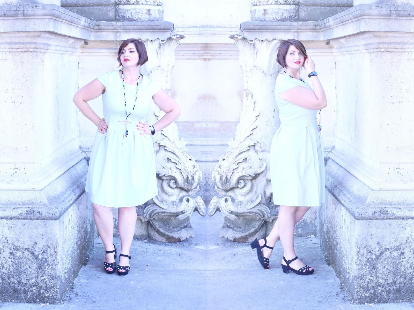 Robe bleue ciel